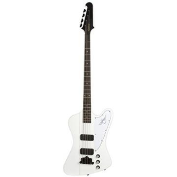 Epiphone THUNDERBIRD CLASSIC-IV 4 String Electric Bass Guitar with Gibson TB+  Pickups, Alpine White