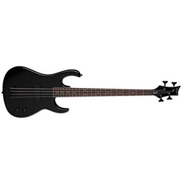 Dean ZOXMB MBK 4-String Zone Bass Guitar, Metallic Black