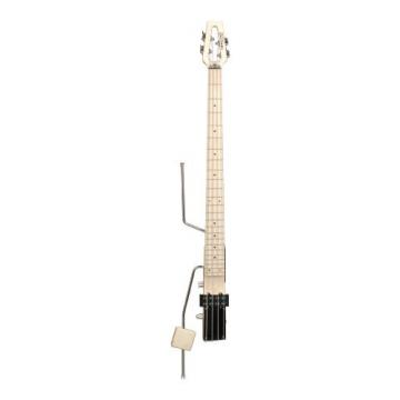 Ministar AMS-BASSTAR Electric Bass Guitar (4 String, Natural Maple, 34 Scale)