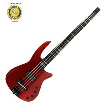 NS Design WAV 4-string Electric Bass Guitar Crimson Metallic with 1 Year Free Extended Warranty