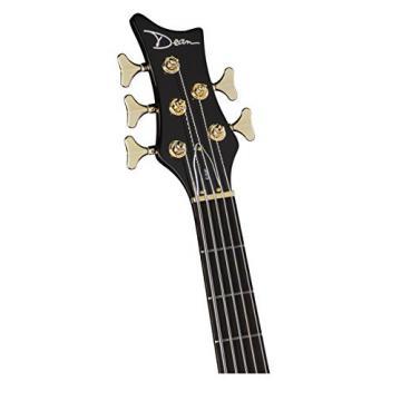 Dean EP5 TGE Edge Pro 5-String Bass Guitar, Tiger Eye
