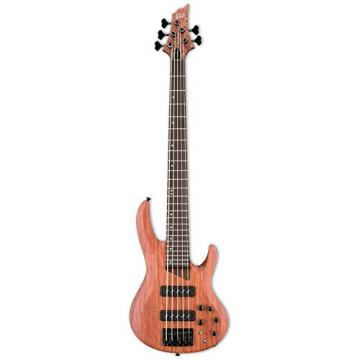ESP LB1005SEBNS-KIT-1 B Series B-1005SE 5-String Electric Bass Guitar, Natural Satin