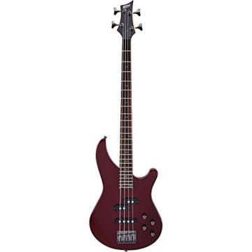 Mitchell MB200 Modern Rock Bass with Active EQ Blood Red