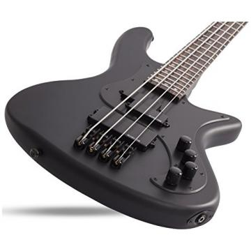 Shecter 2522 STILETTO STEALTH-4 Bass Guitar w/ Hardshell Case
