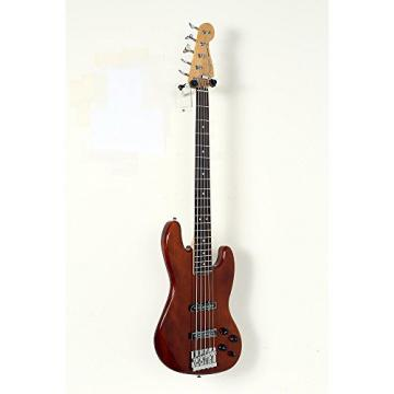Fender Deluxe Active Jazz Bass V Okume Rosewood Fingerboard Electric Bass Guitar Level 2 Natural 190839093448