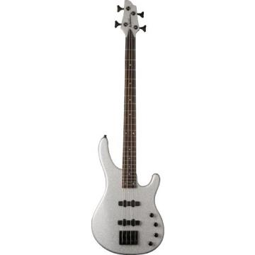 Washburn Signature Series SHB30SVS 4-Strings Bass Guitar, Silver Sparkle