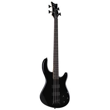 Dean Guitars E10A CBK 4-String Bass Guitar - Classic Black