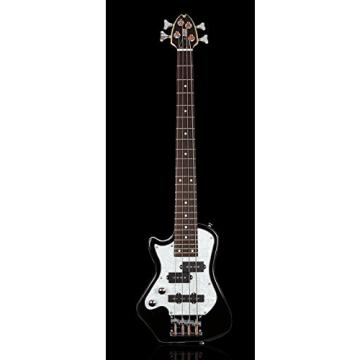Shredneck Left Handed Z-Series Travel Bass - Black - STBS-BK-LH