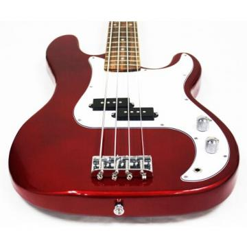Electric Bass Guitar Starter Set, Cherry Burst