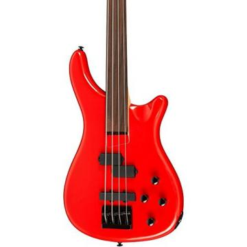 Rogue LX200BF Fretless Series III Electric Bass Guitar Candy Apple Red