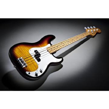 Fender Select Precision Bass, Flame Maple Fingerboard - 2-Color Sunburst