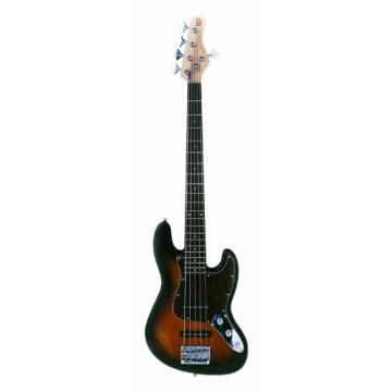 KSD Proto J 5 String Bass, Sunburst