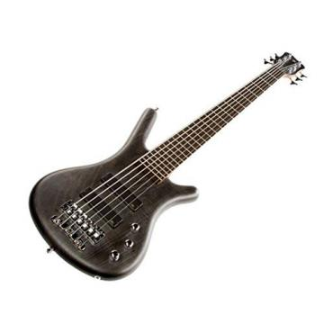 Warwick WGPS Pro Series Corvette 6-String Passive Electric Bass Nirvana Black OFC