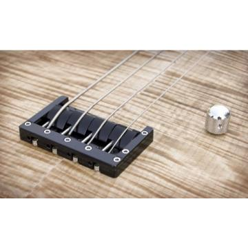 "KSM FOUNDATION Bass Bridge (4-string) ""Black Body with Nickel Bolts"""