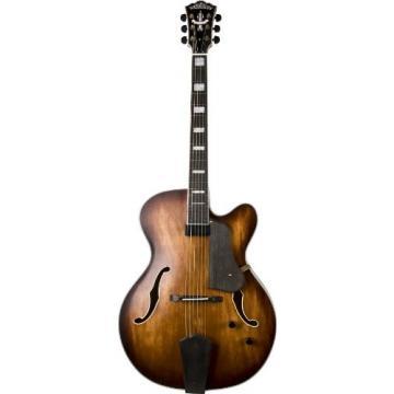 Washburn Jazz Series J600K Jazz Guitar, Vintage Matte