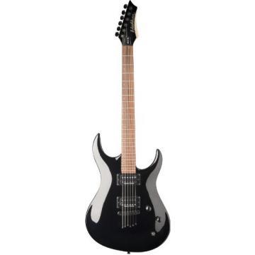 Washburn USM-XM120PROB XM Series Electric Guitar, Black