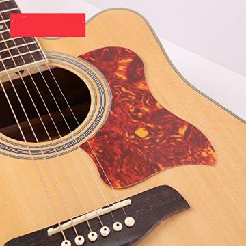 JIERUI Acoustic Guitar Pickguard Set, Self Adhesive, Pack of 6