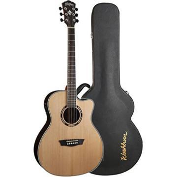 Washburn AG20CEK Nat. Grand Auditorim Spruce RW B/S Acoustic-Electric Guitar
