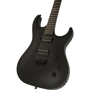 Washburn PXS2000RC Parallaxe PXS Series Solid-Body Electric Guitar, Carbon Black Finish