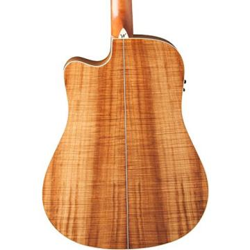 Washburn Woodcraft Series WCSD50SCE Dreadnought Acoustic-Electric Guitar Natural