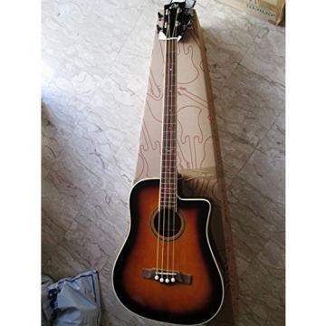 EKO Guitars 06217041 NXT Series Acoustic-Electric Bass, Brown Sunburst