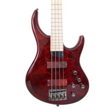 "MTD Kingston ""The Z"" Bass Guitar (4 String, Maple/Transparent Cherry)"