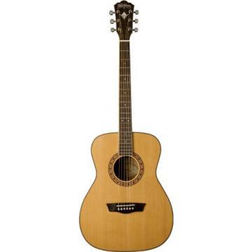 Washburn WF11S Heritage Series Solid Cedar/Mahogany Folk Guitar
