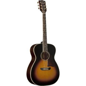 Washburn USM-WSD5240STSK Warren Haynes Signature Series Acoustic Guitar, Tobacco Sunburst