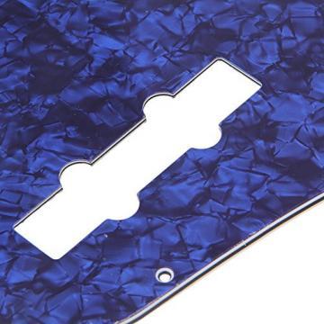 BQLZR Blue Pearl PB JB Bass Pickguard 3Ply For Electric Bass Guitar Scratch Guard Plate