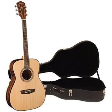 Washburn WF5K Apprentice 5 Acoustic Folk Guitar w/ Case