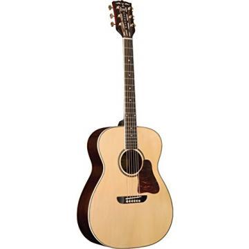 WSD5240SK Washburn Solo Deluxe Warren Haynes Acoustic Guitar natural