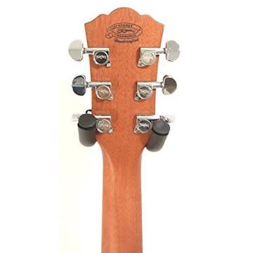 Washburn WCSD40SK Woodcraft Series Acoustic Guitar w/GD Tweed Hard case Plus More