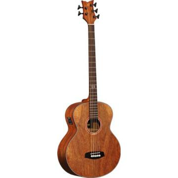 Ortega Guitars D3NC-5 Deep Series Three 5-String Non-Cutaway Acoustic Bass with Paldao Top/Body, Gloss Finish