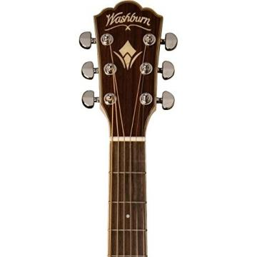 Washburn WG27SE Grand Auditorium Acoustic-Electric Guitar Natural