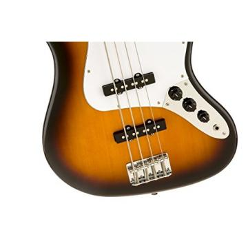 Fender Squier AFFINITY SERIES JAZZ BASS Brown SB w/Hard Case & More