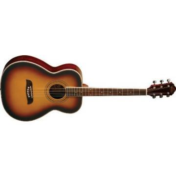 Oscar Schmidt OF2 Folk-Size Acoustic Guitar - Tobacco Sunburst