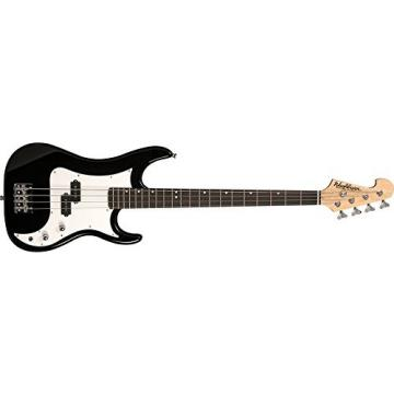 Washburn Sonamaster SB1PB 4-String Bass Guitar, Black Gloss