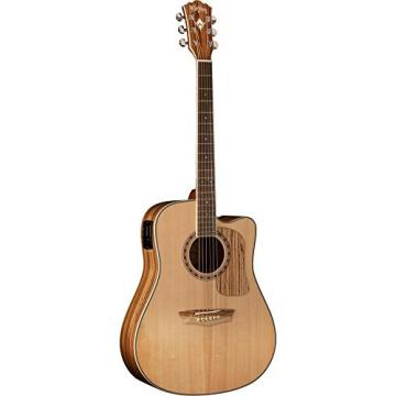 Washburn Woodcraft Series WCSD32SCE Dreadnought Acoustic-Electric Guitar Natural