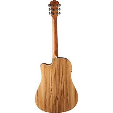 Washburn WCSD30SCE Woodcraft Series Dreadnought Acoustic-Electric Guitar Natural