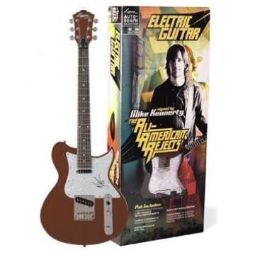 RARE - Mike Kennerty of The All-American Rejects Limited Edition Authentic Autographed Washburn Electric Guitar Pack Set