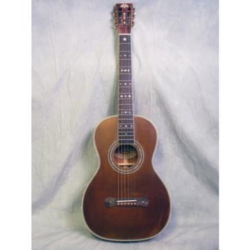 Washburn Vintage R314k Aged Distressed Parlor Acoustic Guitar w/ Case
