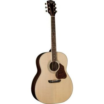 Washbuen USM-LSJ743SK Lakeside Jumbo Series Acoustic Guitar, Natural