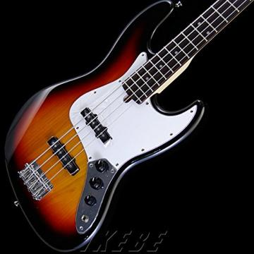 Bacchus by Deviser Japan BJB-1R 3TS Electric Bass