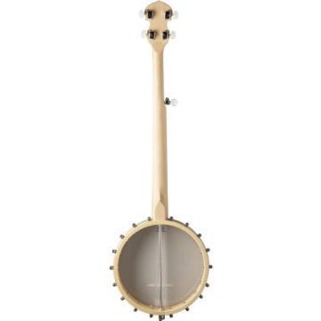 Washburn B102 5-String Banjo, Natural Satin Finish