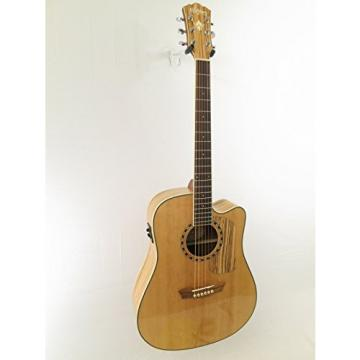 Washburn Model WCSD32SCE Woodcraft series Acoustic Electric Guitar