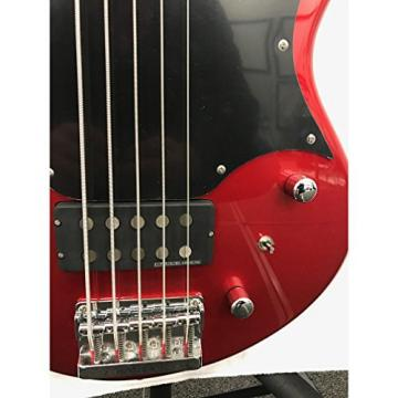 Fernandes Atlas 5 Deluxe Bass Guitar - Candy Apple Red
