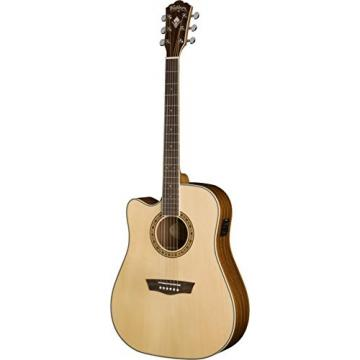 Washburn WD10 Series WD10SCELH Acoustic Guitar