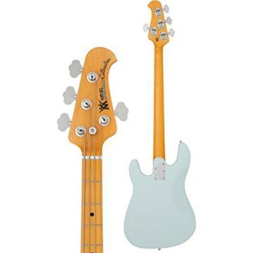 Ernie Ball Music Man 123-S2-10-06 Cutlass Bass Diamond Blue Maple Fretboard