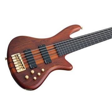 Schecter Stiletto Studio-6 Electric Bass Feetless (6 String, Honey Satin) 2791