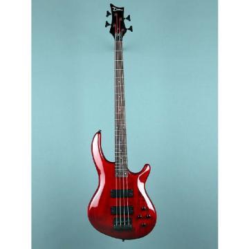 Dean Edge 4 Bass, Trans Black